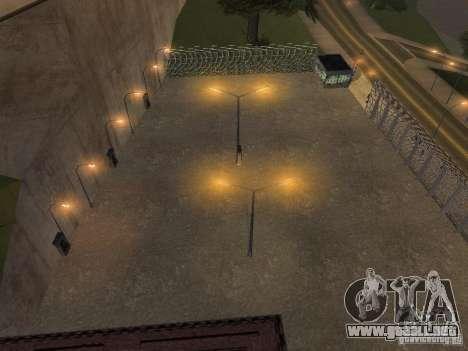 Bus Parque versión v1.2 para GTA San Andreas sucesivamente de pantalla