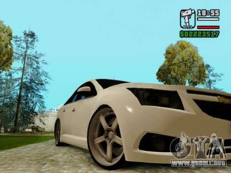 Chevrolet Cruze para visión interna GTA San Andreas