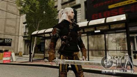 Espada de la v1 de brujo para GTA 4 tercera pantalla