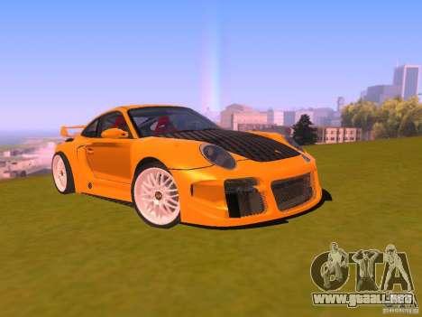 Porsche 911 Turbo Tuning para GTA San Andreas vista hacia atrás
