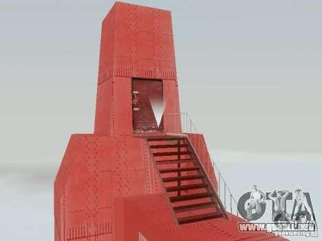 Subir el puente Golden Gate para GTA San Andreas segunda pantalla