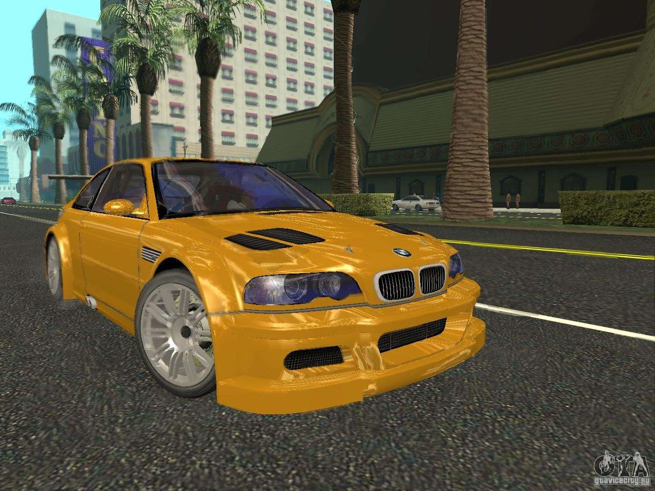 Bmw M3 Gtr De Nfs Most Wanted Para Gta San Andreas