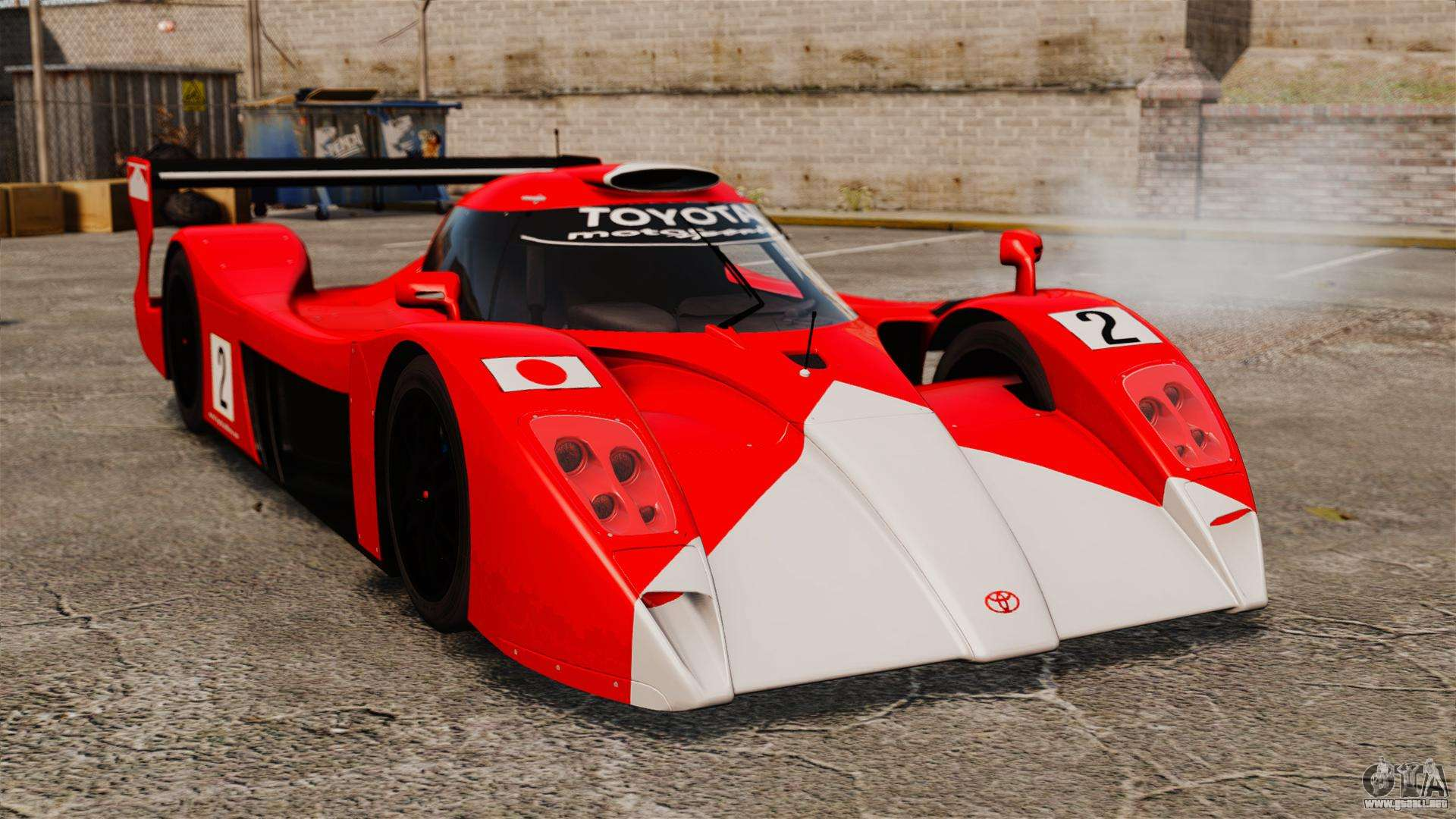 toyota gt one ts020 para gta 4. Black Bedroom Furniture Sets. Home Design Ideas