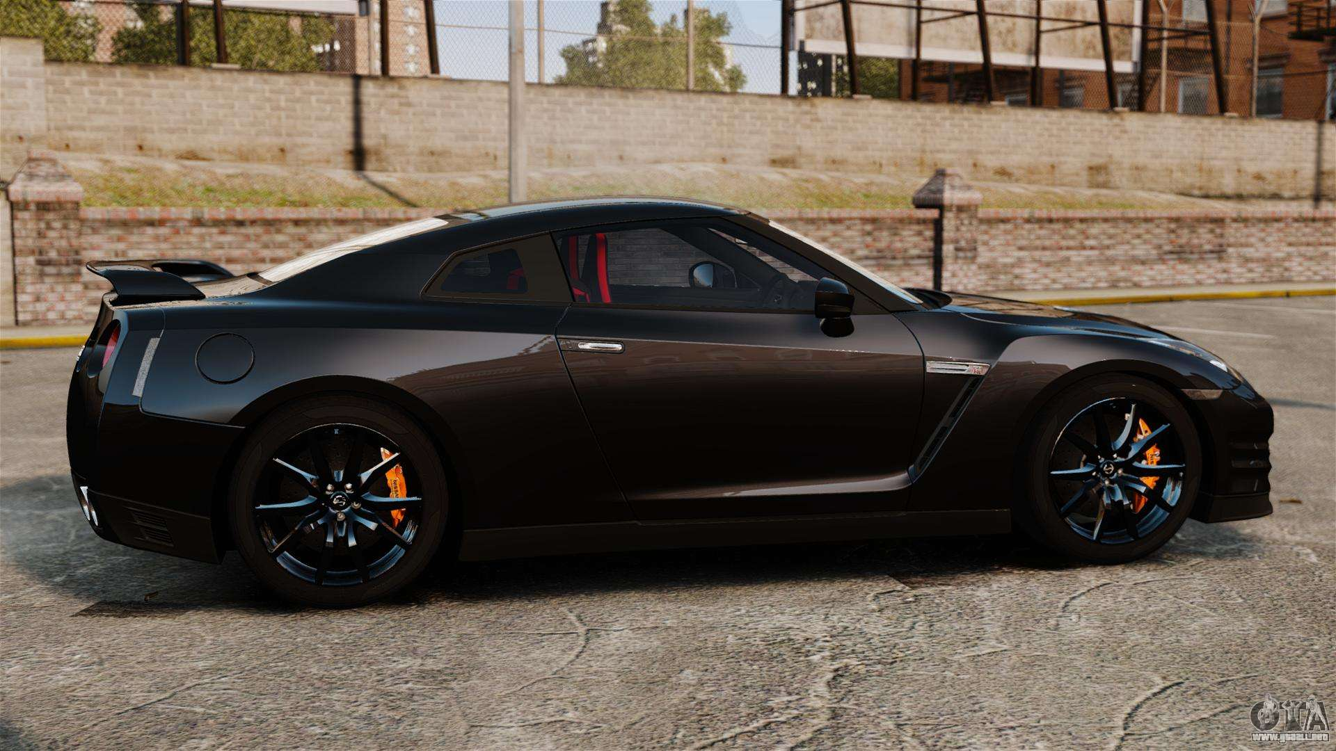 nissan gt r black edition r35 2012 para gta 4. Black Bedroom Furniture Sets. Home Design Ideas