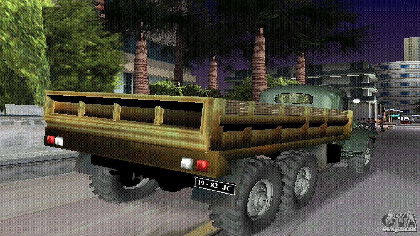 ZIL-157 para GTA Vice City left