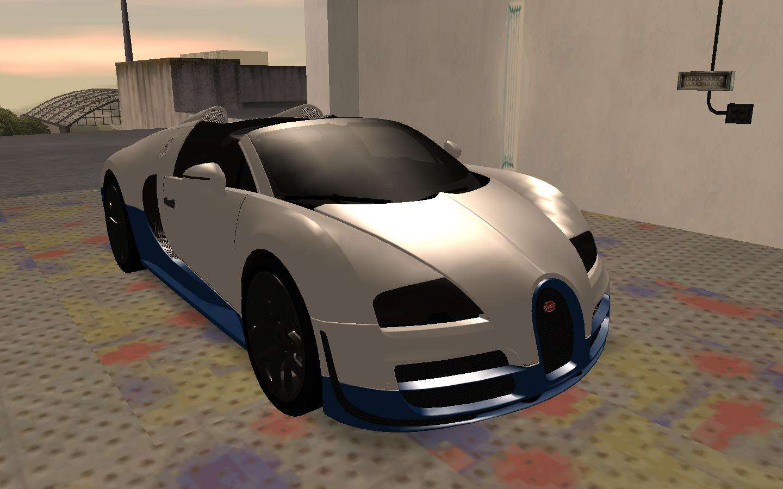 bugatti veyron grand sport vitesse para gta san andreas. Black Bedroom Furniture Sets. Home Design Ideas
