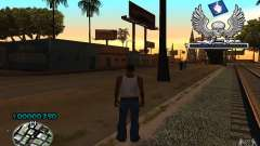 C-HUD awk William para GTA San Andreas