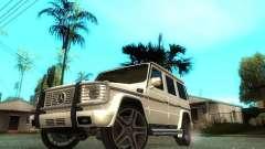 Mercedes-Benz G500 silver para GTA San Andreas