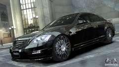 Mercedes-Benz S-Class W221 Black Bison 2009