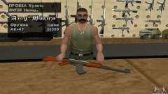 La nueva AK-47 para GTA San Andreas