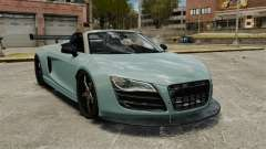 Audi R8 Spider Body Kit para GTA 4