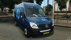 Mercedes-Benz Sprinter G4S ES Cash Transporter para GTA 4
