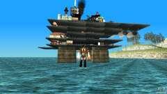 Plataforma petrolífera en Los Santos