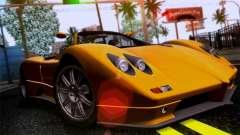 Pagani Zonda C12S Roadster para GTA San Andreas
