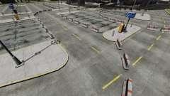 Deriva-pista en el aeropuerto para GTA 4