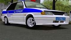 VAZ 2115 policía para GTA San Andreas