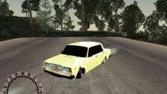 VAZ 2107 oro para GTA San Andreas