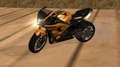 Bajaj Pulsar 620 Custom para GTA San Andreas