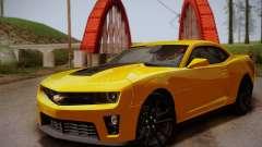 Chevrolet Camaro ZL1 v2.0 para GTA San Andreas