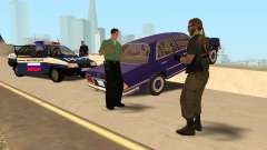 Un accidente en el puente Garver para GTA San Andreas