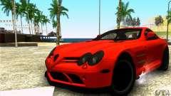 Mercedes Mclaren SLR 722 para GTA San Andreas