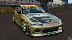Nissan Silvia S15 D1GP TOP SECRET para GTA 4