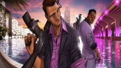 Pantalla de arranque de Vice City