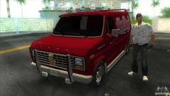 Ford E-150 Gang Burrito para GTA Vice City