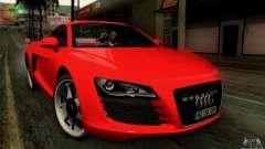 Audi R8 Spyder Tunable para GTA San Andreas