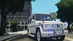 Mercedes-Benz G500 Beredskapstroppen para GTA 4