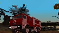 KAMAZ 43118 AC-7 para GTA San Andreas