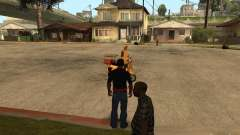 CJ hambre v. 3 final para GTA San Andreas