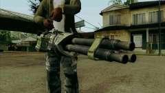 Ametralladora de Duke Nukem Forever para GTA San Andreas