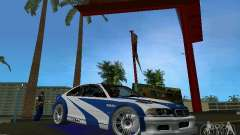 BMW M3 GTR NFSMW para GTA Vice City