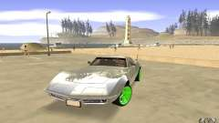 Chevrolet Corvette Stingray Monster Energy para GTA San Andreas