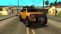 Mitsubishi Pajero OffRoad v2 para GTA San Andreas