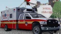Dodge Ram Ambulance para GTA San Andreas