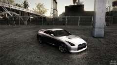 Nissan GT-R35 v1 para GTA San Andreas