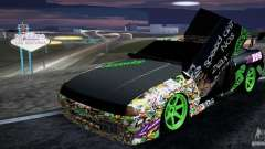 New Elegy DriftingStyleTeam para GTA San Andreas