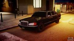Mercedes-Benz 560 SEL Black Edition para GTA 4