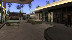 Gasolinera ocupado en Los Santos