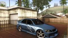 Lexus IS 300 Veilside para GTA San Andreas