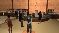 Empleados del Ayuntamiento de piel Pack para GTA San Andreas
