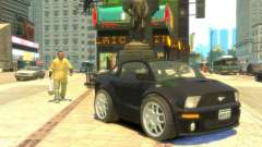 Ford Mustang Mini GT Beta para GTA 4