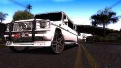 Mercedes-Benz G500 Limusina белый para GTA San Andreas