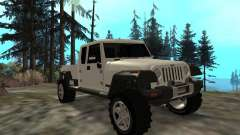Jeep Gladiator para GTA San Andreas