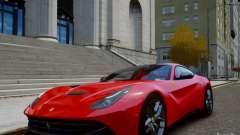 Ferrari F12 Berlinetta 2013 para GTA 4