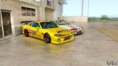 Nissan Skyline GT-R32 BadAss para GTA San Andreas