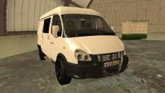 GAZ 2752 Sobol negocios para GTA San Andreas