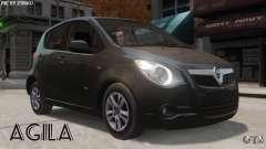 Vauxhall Agila 2011 para GTA 4